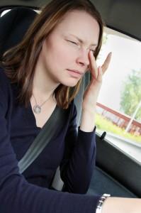 Tunnista väsymisen merkit - tahdonvoima ei riitä valveilla pysymiseen. Kuva: Liikenneturva.