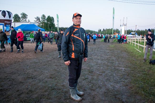 Веса Тиихонен, руководитель дистанции.