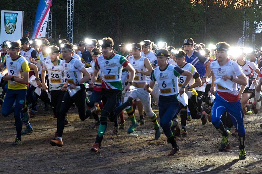 Jukola Relay gets underway in the night of Hälvälä | Lahti-Hollola Jukola 2018