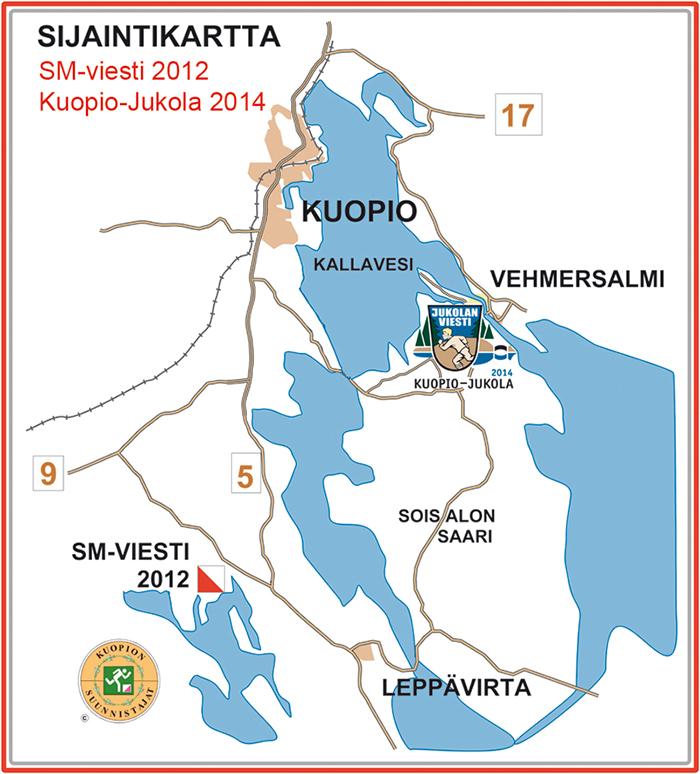 Laitilanniemi, SM-viesti 2012, kansalliset 1.6.2014