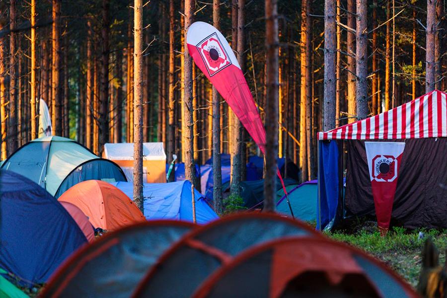 Палаточный городок, Ямся-Юкола 2013.