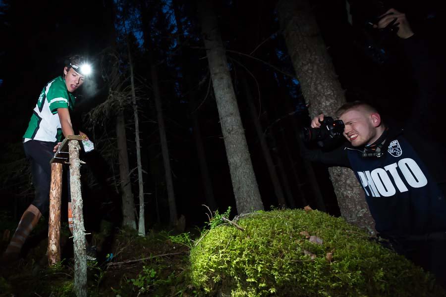 Kuopio-Jukolan kuvaajat ikuistivat tapahtumia vuorokauden ympäri.